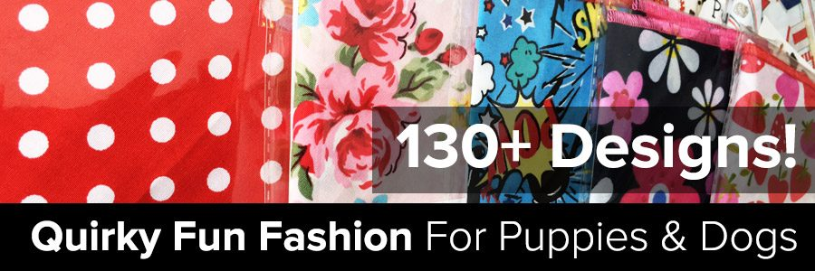 Over a 130+ Dog Bandana Designs