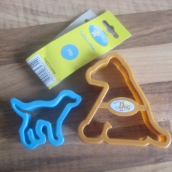New cutters in preparation for advanced baking for dogs!