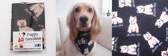 scottie dog dog bandanas