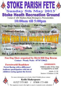 stoke parish fete