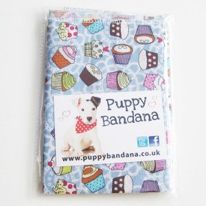 Cupcakes Dog Bandana