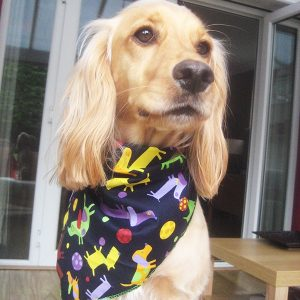 Dogs and Balls Dog Bandana