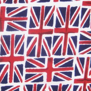 Union Jack Flag Dog Bandana Design