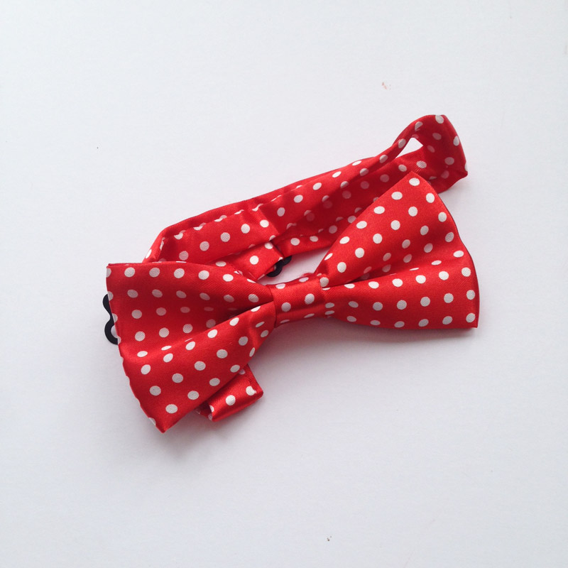 large bow tie for dogs spotty bow tie