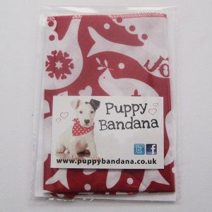 Peace and Joy Christmas Dog Bandana