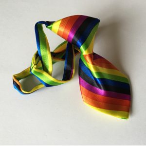 Rainbow Tie for Dogs