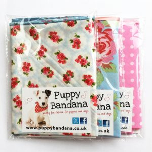 I Love Cath Kidston Style Dog Bandana Multibuy from Puppy Bandana