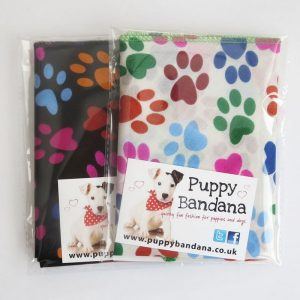 Paw Prints Dog Bandanas
