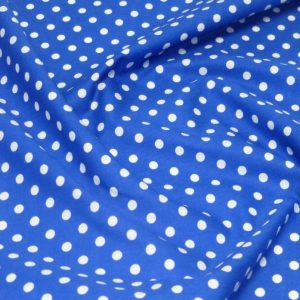 Blue Polka Dot Dog Bandana