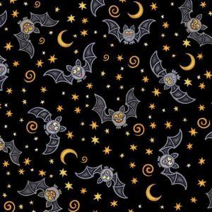 Creepy Halloween Bats Dog Bandana