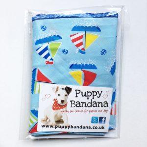 Nautical Dog Bandana from Puppy Bandana