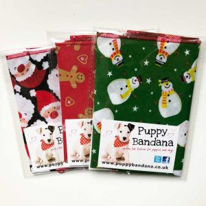 Christmas Dog Bandana Offers at Puppy Bandana