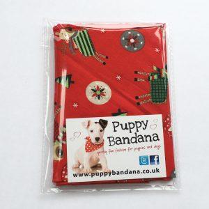 Best Dressed Reindeer Dog Bandana