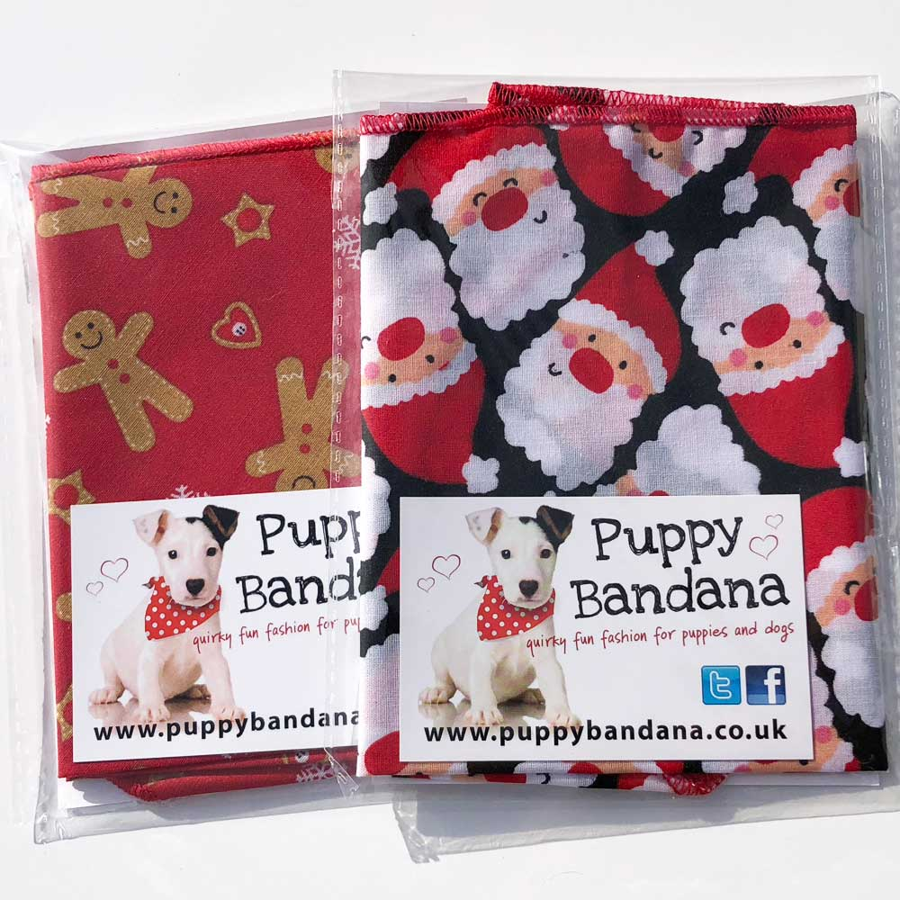 Xmas Dog Bandana Offer Pack | Christmas Dog Bandana Offers