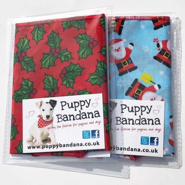 Christmas Dog Bandana Offers Puppy Bandana