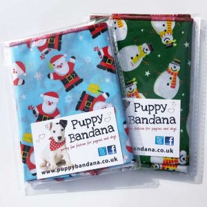 Dog Bandana Offers Christmas Puppy Bandana