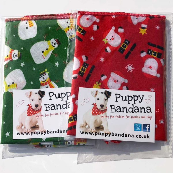 Dog Bandana Xmas Offers Puppy Bandana