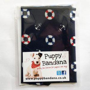 Hello sailor dog bandana from puppy bandana
