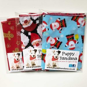 Xmas Dog Bandana Bundle Puppy Bandana