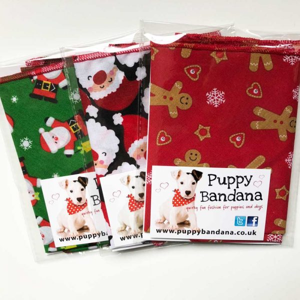 Christmas Dog Bandana Bundle