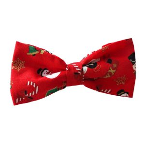 Christmas Bow Tie for dogs
